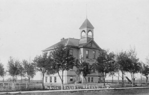 Ardoch, North Dakota, public school, 1920s