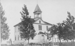 Conway, North Dakota, public school, 1910s