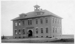 Lankin, ND: Public School, 1900s