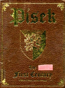 Pisek Book front cover