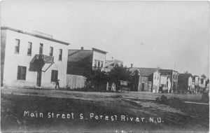 Forest River, Main Street, 1909