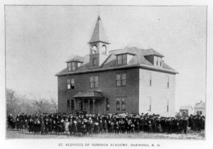 Oakwood, ND: St. Aloysius of Gonzaga Academy, 1900s