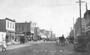 Park River, ND: Main Street, 1910s