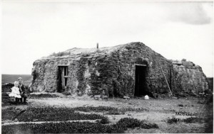 Sod house near Fairdale, ND, 1903
